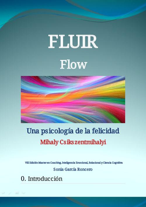Sonia García - 2oTRABAJO FLUIR (flow)