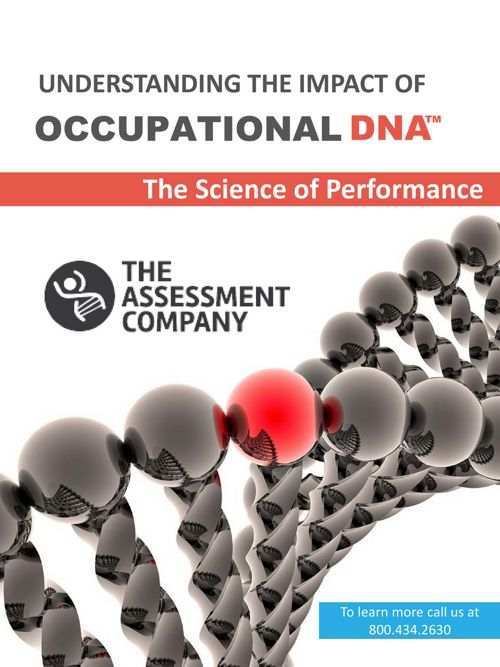 Understanding the Impact of Occupational DNA