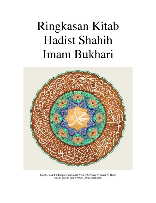 Terjemahan Shahih Bukhari