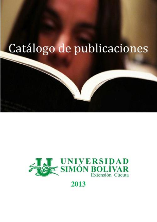Catálogo de Publicaciones Unisimón Cúcuta