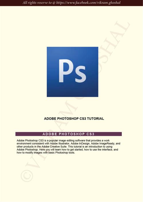 Photoshop Class Day 1