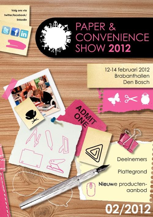 Beursmagazine Paper & Convenience Show | voorjaar 2012