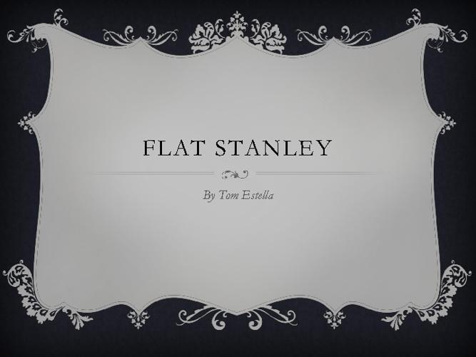 Stanley's Adventures