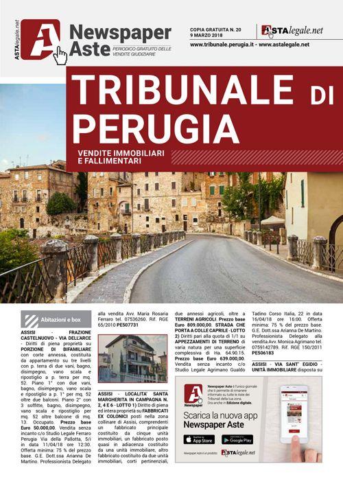 Perugia 9 marzo 2018