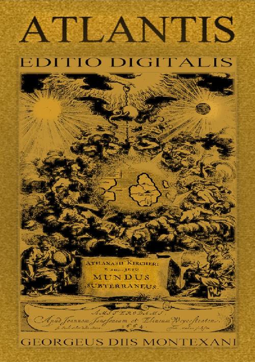 ATLANTIS ATHANASIUS KIRCHER ATLANTIDAE MAPPAE EDITIO ORIGINALIS