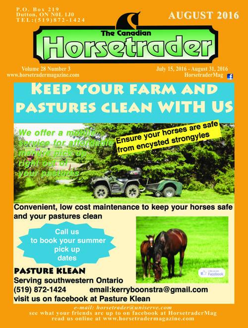 Horsetrader Magazine August 2016