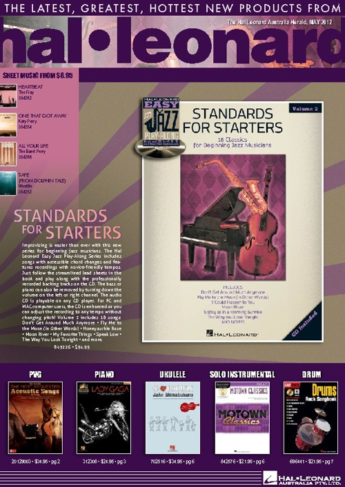 May - Hal Leonard Australia Herald