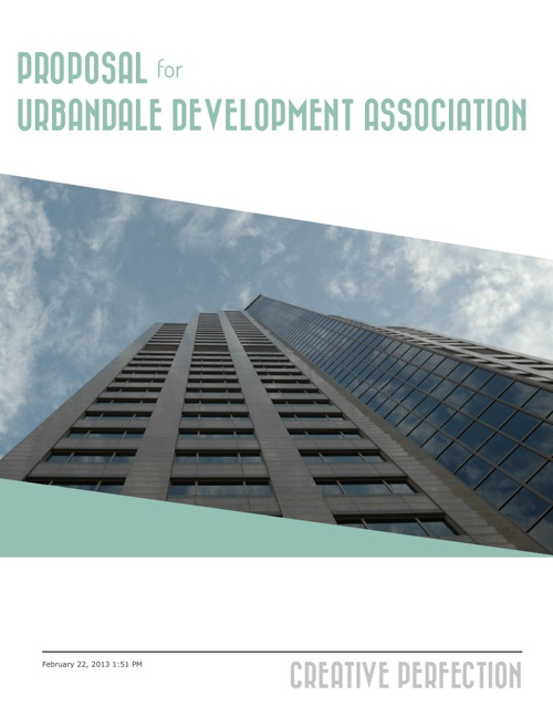 Urbandale Development Proposal