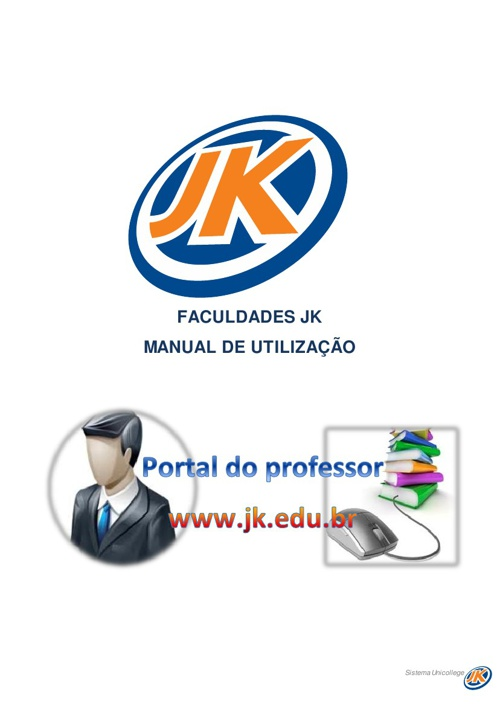 Manual do professor on-line - Faculdade JK