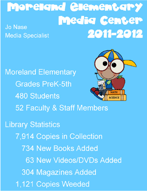 2011-2012 MES Media Center Year in Review