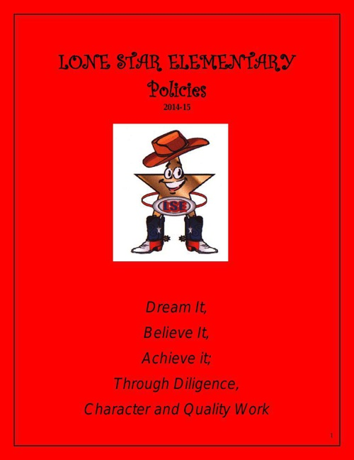 LONE_STAR_ELEMENTARY_2014-15_policies