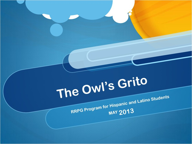 RRPG The Owl's Grito May Newsletter