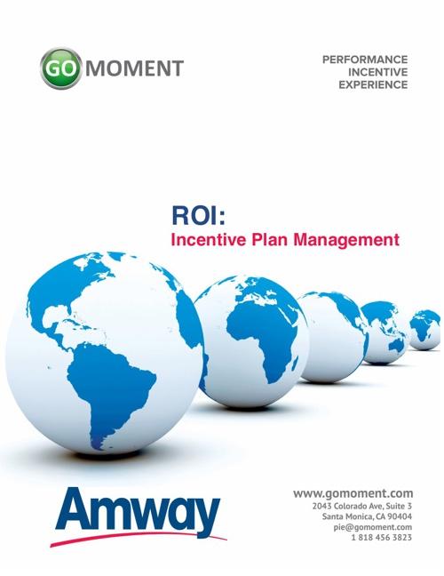 PIE Proposal - Amway