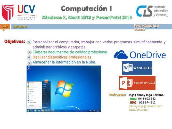 Computacion I (UCV)