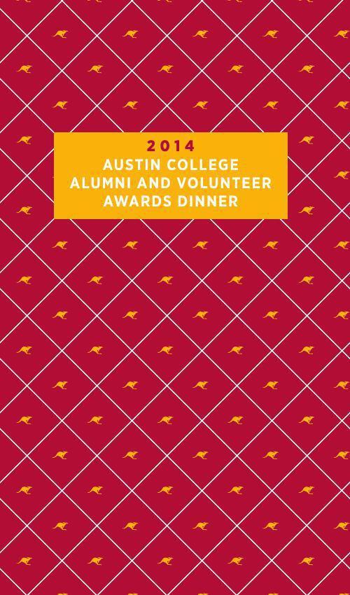 2014 Alumni & Volunteer Awards Dinner