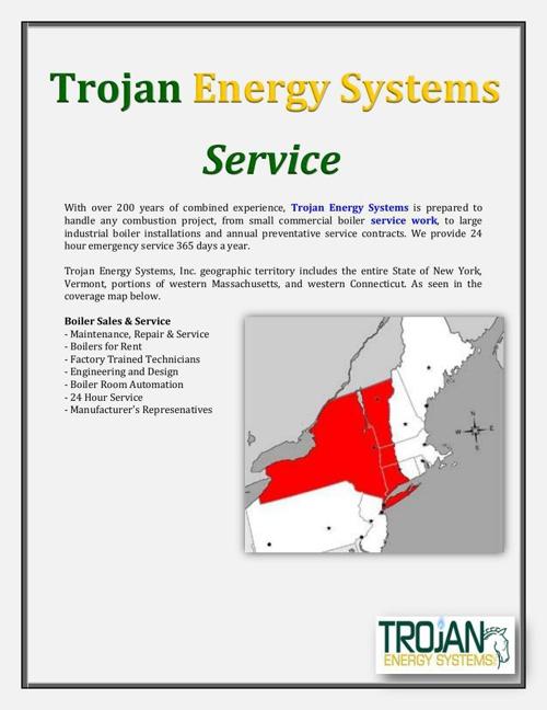 Trojan Energy Systems: Service