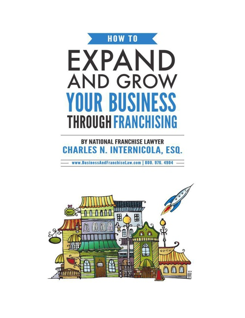 How to Expand and Grow Your Business Through Franchising