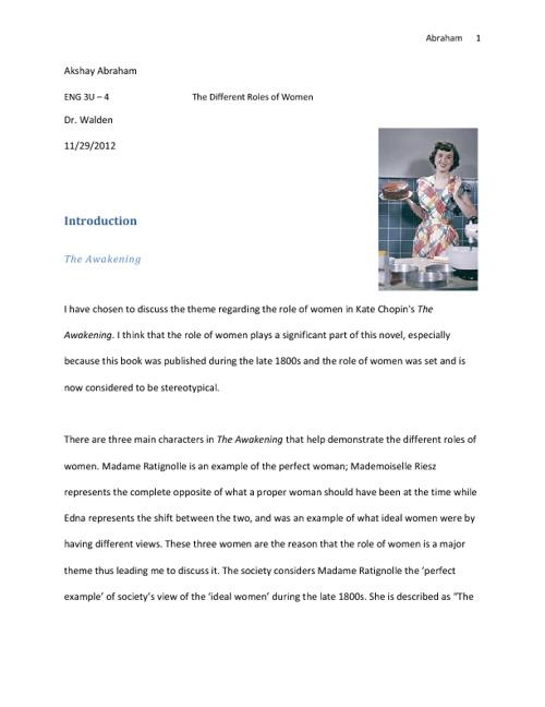 Abraham - Independent Novel Assignment