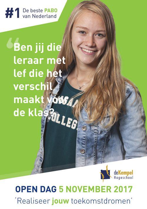 Programma open dag De Kempel