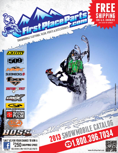 FirstPlaceParts.com 2013 Snowmobile Catalog