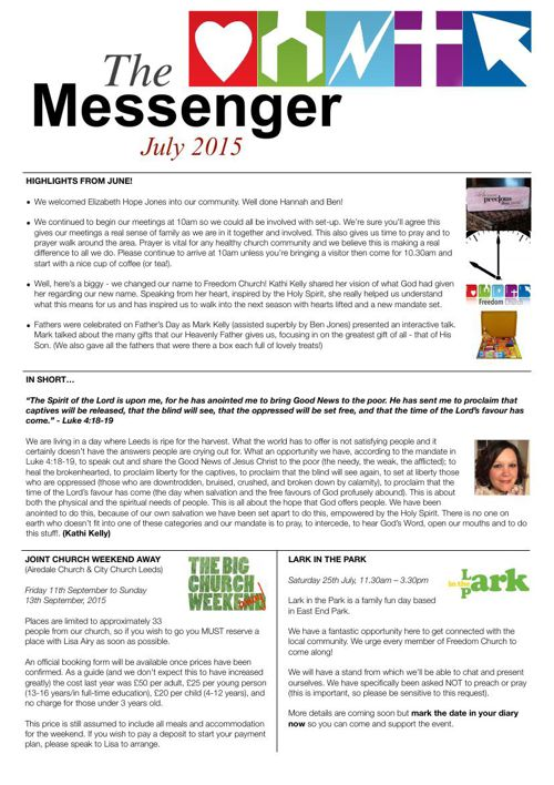 The Messenger - July 2015