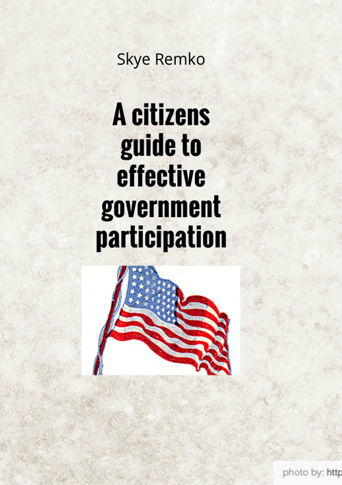 A citizens guide to effective government participation
