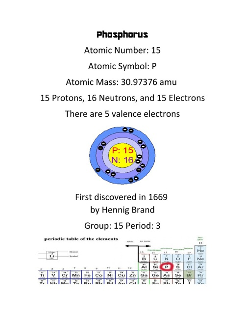Element: Phosphorus
