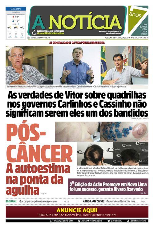 Jornal A Notícia - Edição 296