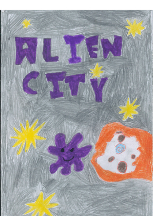 Alien City  by Joe and Tewi