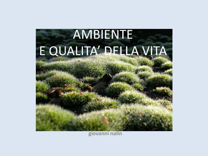 Ambiente e qualità della vita