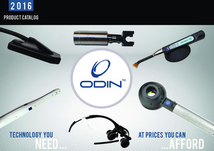 ODIN Product Catalog 2016