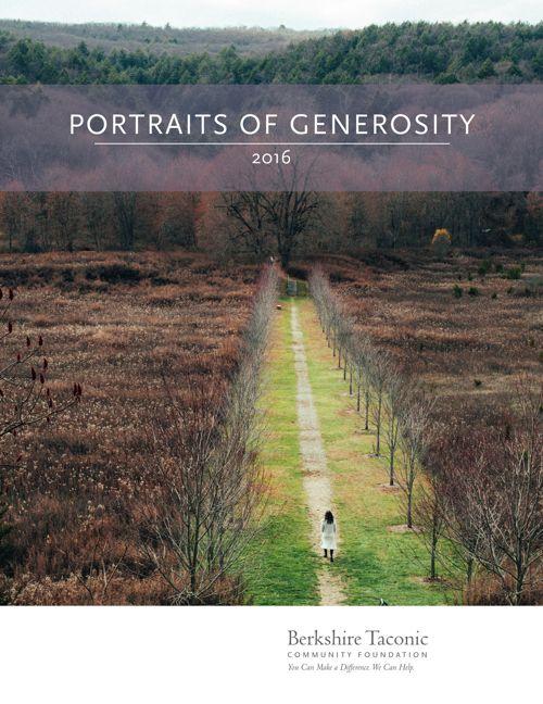 Portraits of Generosity 2016