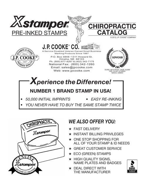 Chiropractic Catalog