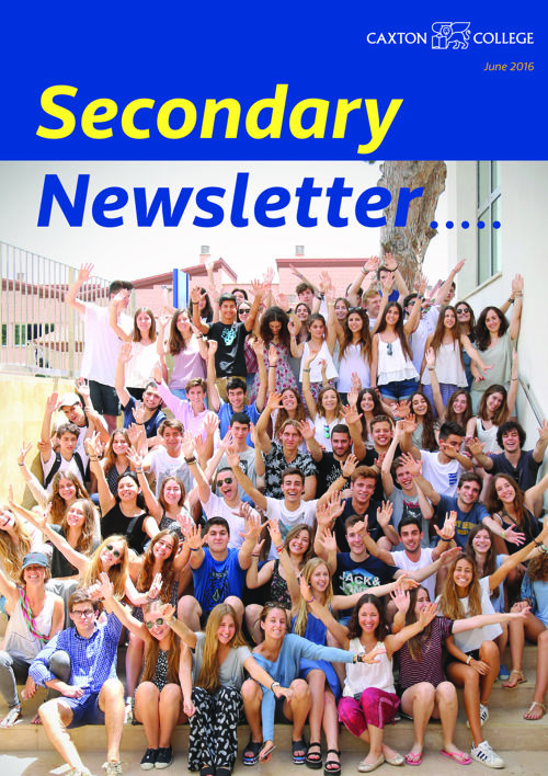 Secondary Newsletter for parents: June