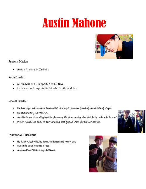 Austin Mahone Celebrity Analysis