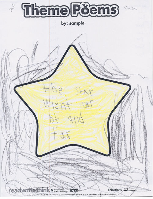 Kindergarten Poetry Booklet