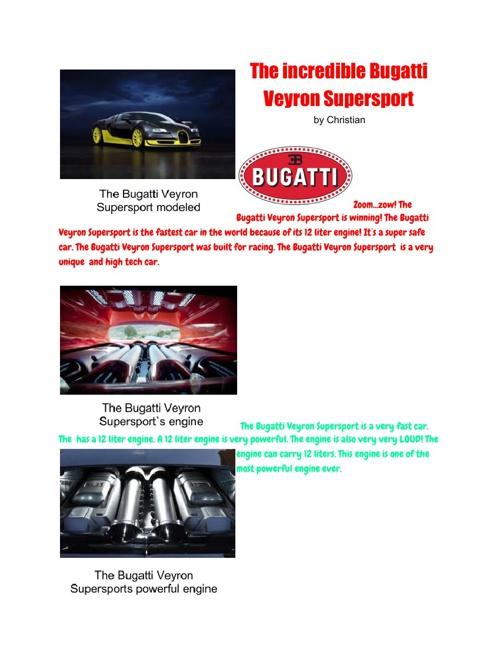 The Bugatti Veyron Supersport