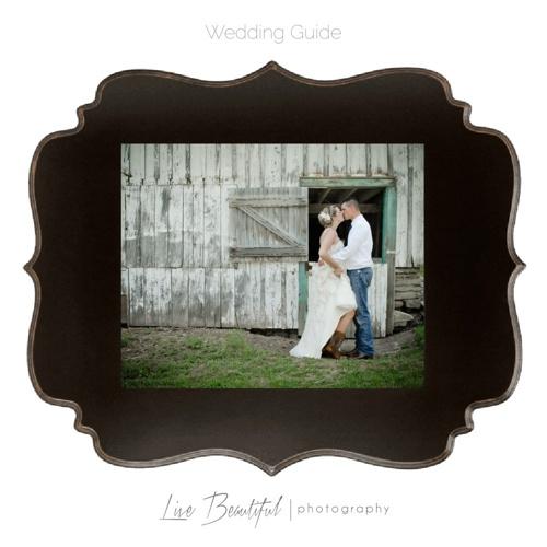 Wedding Guide - Live Beautiful Photography
