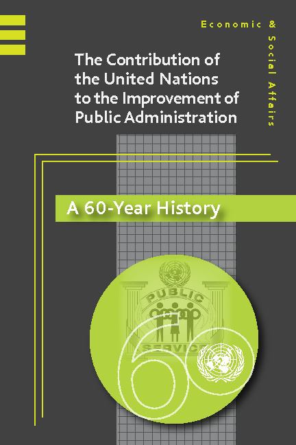 The Contribution of the United Nations to the Improvement of Pub