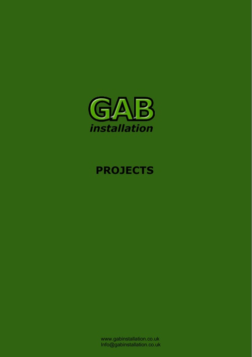 GAB Installation 2013