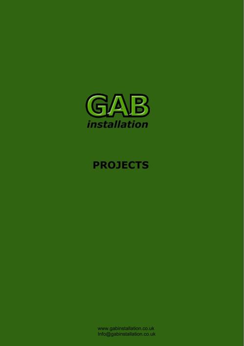GAB Installation 2017