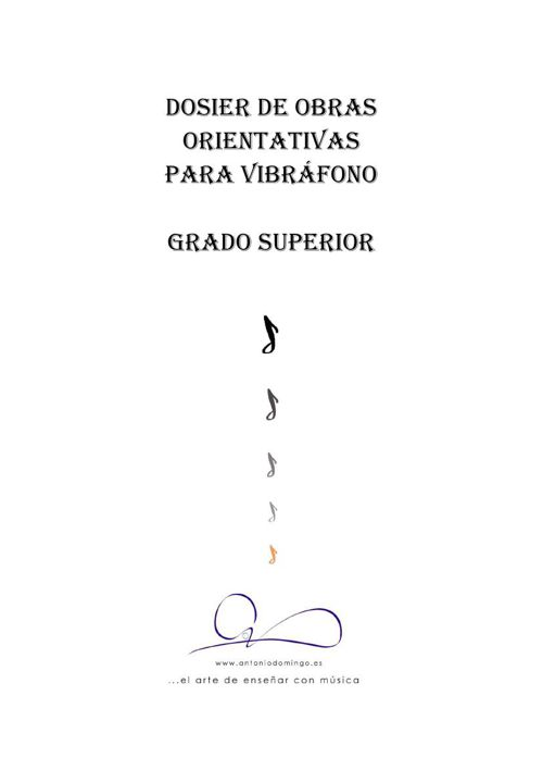 Programa General Vibráfono XI-2015