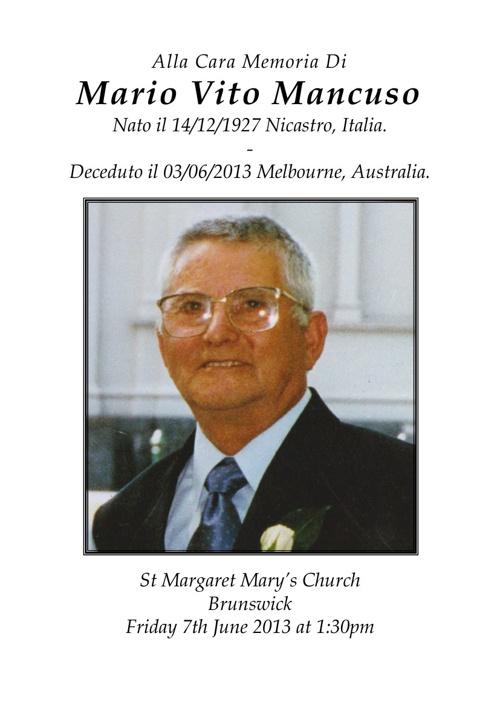Mario Mancuso