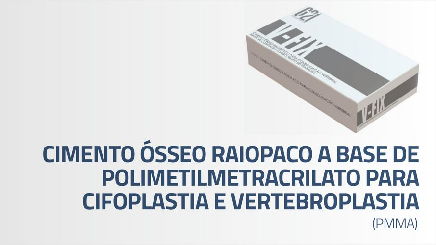 Macom - Cimento Osseo Radiopaco a base de polimetilmetracrilato