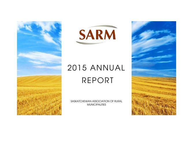 SARM 2015 Annual Report