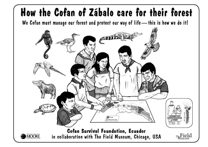 How the Cofán of Zábalo care for their forest