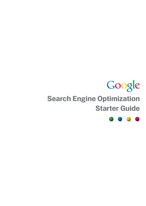 Guide Search Engine Optimization