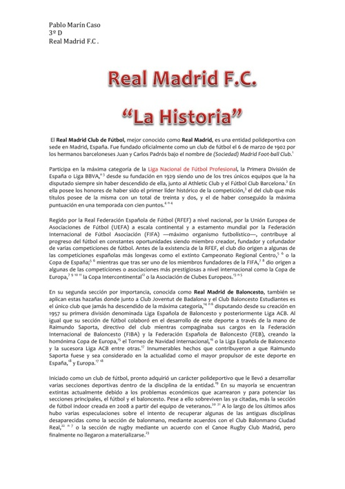 Real Madrid Fútbol Club