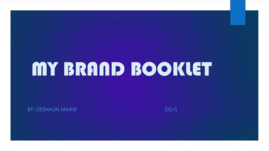 brand booklet