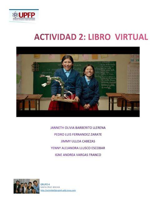 ACTIVIDAD 2: LIBRO VIRTUAL